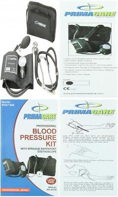 Primacare Medical Supplies DS-9181 Black Professional Blood Pressure Kit...