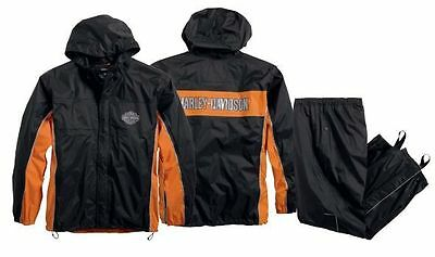 98285-14Vm Harley-Davidson Men's Generations Waterproof  Rain Suit ***new***