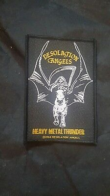 DESOLATION ANGELS NWOBHM OFFICIAL PATCH (Sew on)