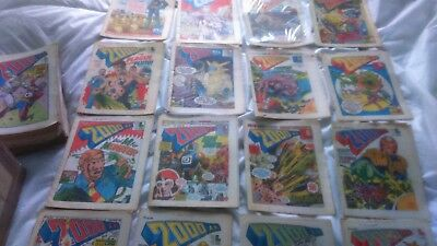 2000AD job lot 100+ progs early/banned Judge Dredd