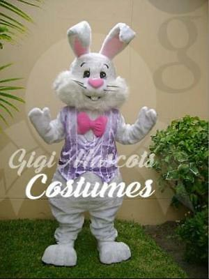 Professional Easter Bunny Mascot Costume And Many More Can Express Or Overnight