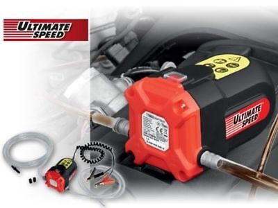 Ultimate Speed 12V C1 Oil /Diesel Suction and Transfer Pump (NEW)*Fast Dispatch*