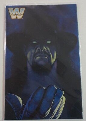 WWE Then Now Forever #1 2016 WWF 1:30 UNDERTAKER Virgin Variant Cover