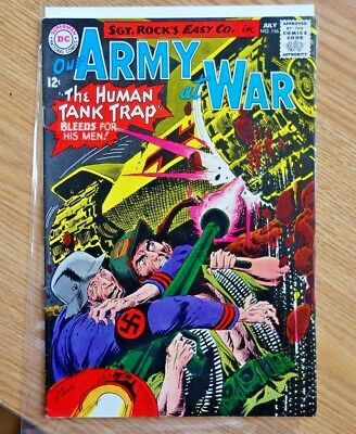 Our Army at War #156 1965 DC Sgt. Rock Comic Book