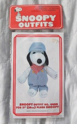 "1958 11"" Snoopy outfit Train Conductor/Engineer #4400 vintage in package NIP"