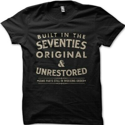 Hotfuel built in the seventies T Shirt All Sizes