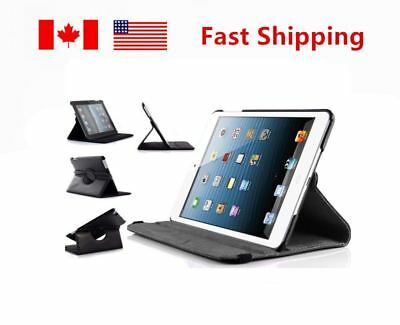 360°High Quality Rotating Stand Leather iPad Case Cover For iPad Air 2