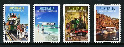 Australian 2015 Tourist Transport, set of 4 S/A stamps, used