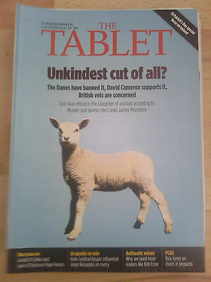 The Tablet 15 March 2014