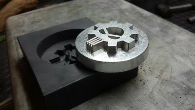 CUSTOM GRAPHITE MOLDS for Casting Gold, Silver, Copper and Glass