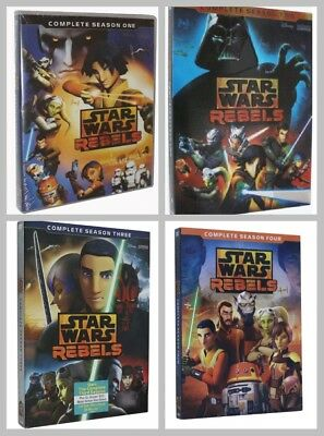 Star Wars Rebels: Complete Animated TV Series Seasons 1 2 3 4  (14 DVD ) 1234