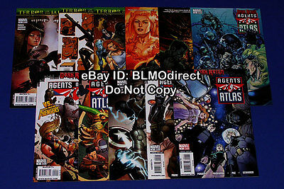 2009 Agents of Atlas 1 2 3 4 5 6 7 8 9 10 11 Full Run 1 11 First Prints Marvel