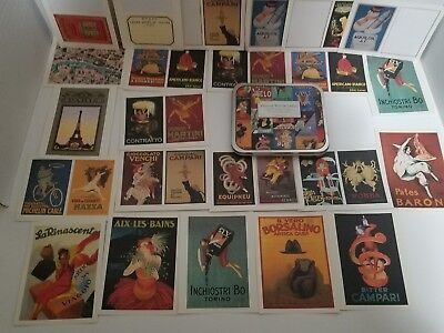 Vintage Poster Labels - Assorted Decorative Labels - Cavallini Paper & Co.