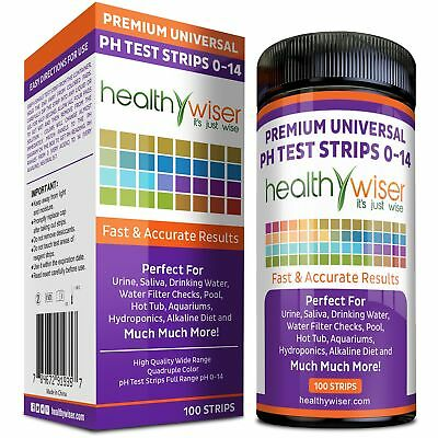 pH Test Strips 0-14, Universal Strips To Test Water Quality For Swimming Pool...
