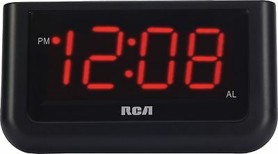 "RCA Digital Alarm Clock with Large 1.4"" Display 1.4"" Large Digital Alarm Clock"
