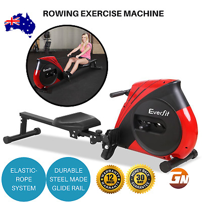 Everfit Rowing Exercise Machine Rower  Fitness Gym Cardio Resistance