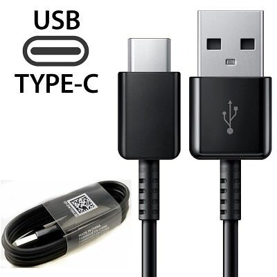 5FT Samsung Galaxy S9 S8 Plus Note 9 8 S10 + Original Fast Charger Type-C Cable