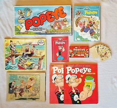 POPEYE Game and Activity Pack