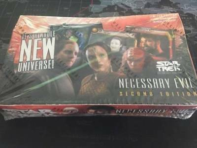 Star Trek CCG - Necessary Evil - Sealed Booster Box - Decipher 1E 2E Cards STCCG