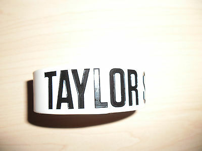 Taylor Swift Grey Rubber Bracelet 'RED' Album Brand New