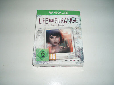 X-BOX-ONE- LIFE is STRANGE  Limited Edition Square Enix  NEU, in Folie