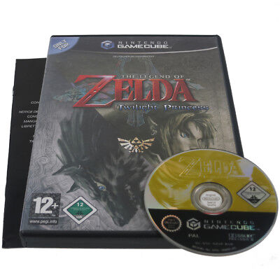 The Legend of Zelda Twilight Princess GameCube GC Game Cube Wii Spiel OVP TOP