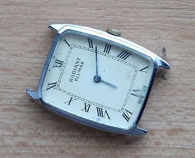 RADIANT BLUMAR swiss made mechanical vintage watch PART NO RESERVE