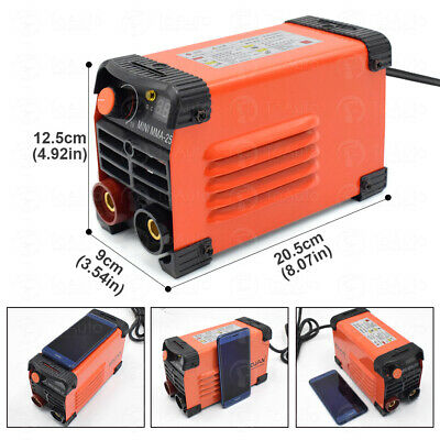 Mini Handheld MMA IGBT Welder 220V 20-250A Inverter ARC Welding Welder Machine