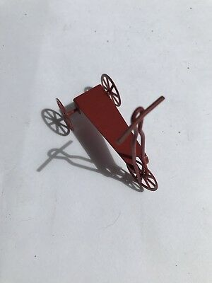Dolls House Red Scooter Child's Toy Miniature 1:12 Scale?