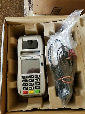 First Data FD 130 Terminal with Internal PIN Pad/EMV/NFC/WiFi (001867064)**NEW