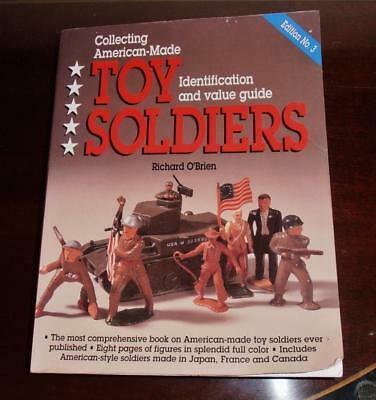 Collecting American-made Toy Soldiers by Richard O'Brien  Edition #3 -ID & Value