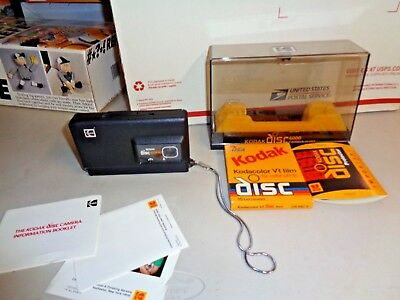 Retro Vintage Kodak Disc 6000 Camera with Instructions  & FILM Working