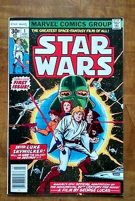 star wars 1978 no1 *CGC this!! Near mint condition*