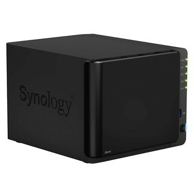 Synology DS416 4 Bay NAS Strorage with 2x 2TB HDD