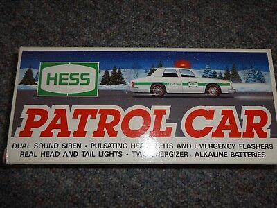 Hess Patrol Car 1993 *new*