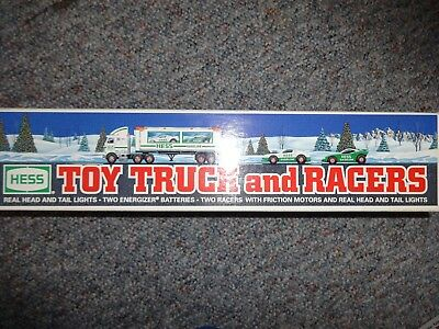 Hess Toy Truck And Racers 1997 *new*