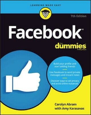 Facebook for Dummies  7th Edition 2018  Read on PC/Phone/Tablet