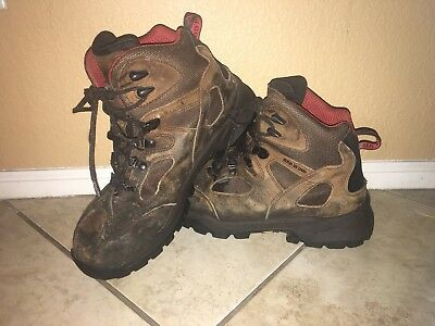 b95229c693f RED WING TRUHIKER 6-INCH HIKER BOOTS STYLE #6674 Mens SIZE 11 Steel Toe  Brown