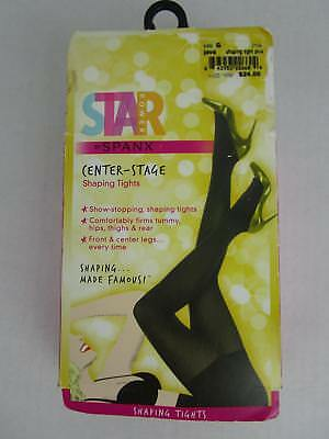 b3e86f89645ed4 STAR POWER BY Spanx Women's Center-Stage Shaping Tights 2154 Size A ...