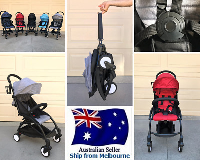 Compact Lightweight Baby Stroller Pram - Travel Carry-on Plane - Foldable