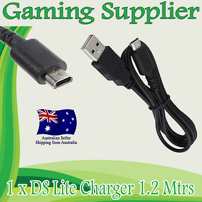 USB Charger Charging Power Cable Cord for Nintendo DS Lite DSL 1.2M
