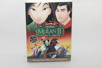 Mulan II (DVD, 2005) New Sealed with Slipcover  Free Same Day Shipping!