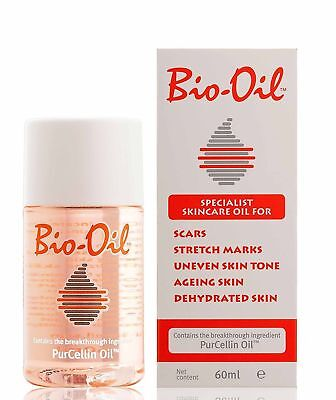 Bio-Oil with PurCellin Oil Skincare for Scars Stretch Marks, 60ml/125ml