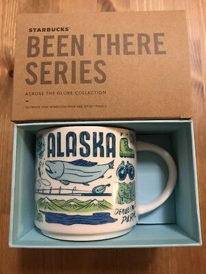 Starbucks Been There Series New Collection *ALASKA* * Free Shipping *