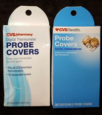 (2) CVS Digital Thermometer Probe Covers ~ 60 Total Disposable Covers