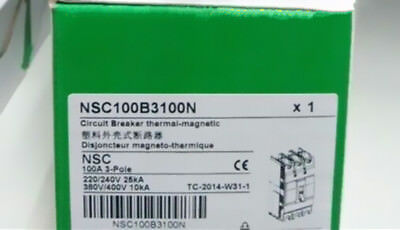 1PCS NSC100B3100N Schneider Breaker NEW in box