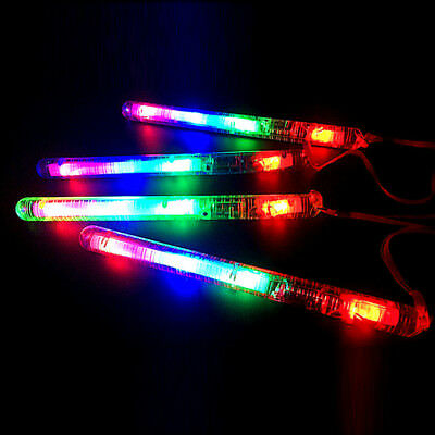 1Pc Flashing LED Light Up Glow Stick Colorful Concert Dancing Party Toy Reusable