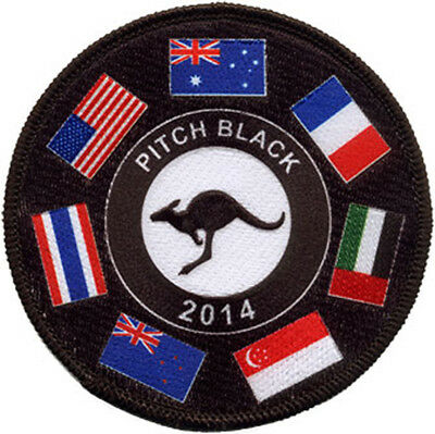 Exercise Pitch Black 2014 Embroidered Patch