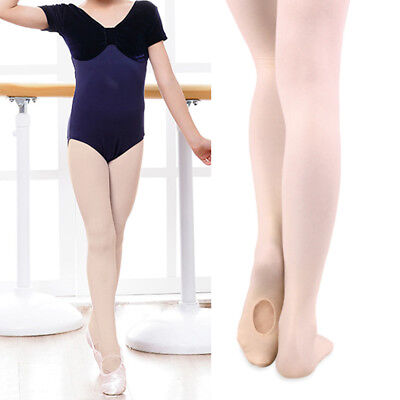 Children/girls ballet stockings/dance footed tights/pantyhose 3 sizes