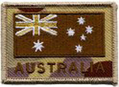 Australian Flag Subdued on DPDU ANF Embroidered Patch